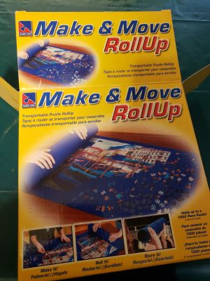 Roll up puzzle saver