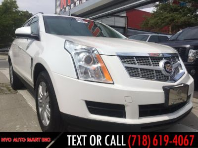 2012 Cadillac SRX Base (White)