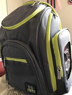 Baby Boom Spaces & Places Backpack Diaper Bag (Like New)