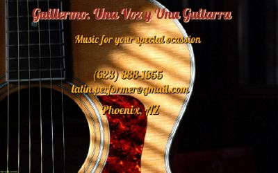 Mexican music for your party. Soloist Guitarist & Singer