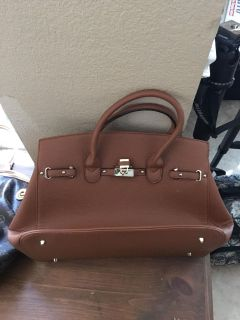 Never used brown purse