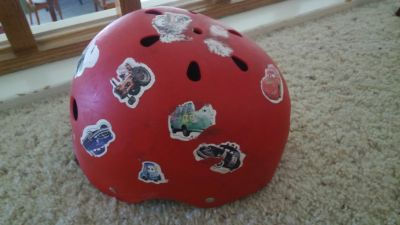 bicycle helmet 4-5 yo