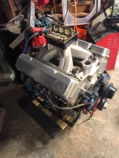 "Jay Dickens13 degree 420"" aluminum late model motor"