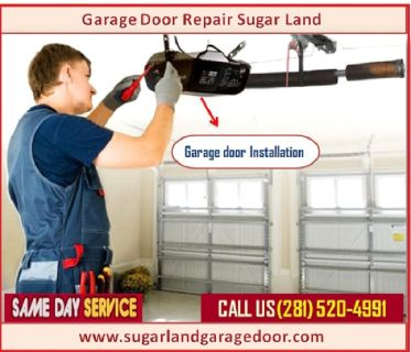 Roll up Garage Door Opener Repair Sugar Land TX @ Just $25.95