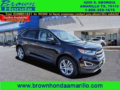 2017 Ford Edge Titanium AWD (SHADOW BLACK)