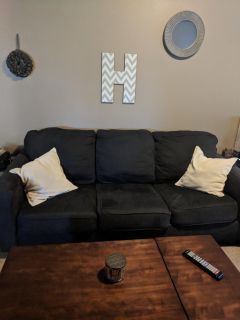 Ashley Aleyna Couch and Loveseat