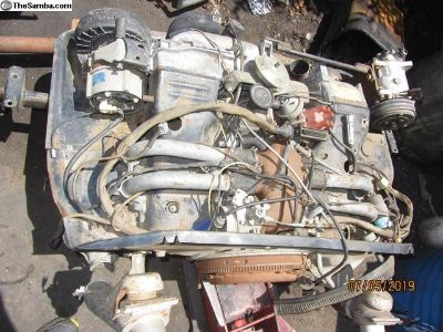 complete vanagon air cooled engine