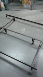 HEADBOARD BED FRAME (no casters/wheels)