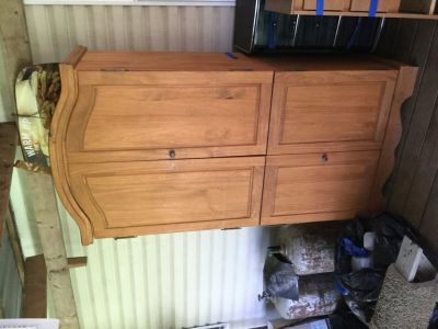 Wood Tv armoire
