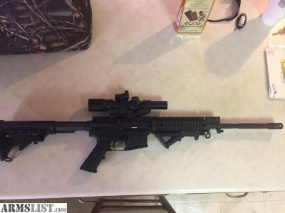 For Sale: Windham AR-15 with Ford grip and burris tac30 fast fire scope