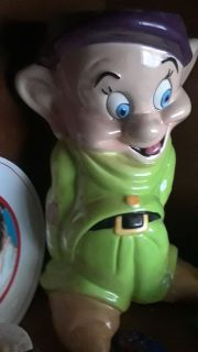 Dopey vintage cookie jar