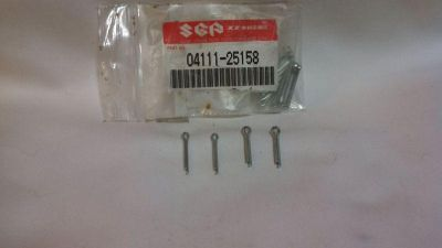 Find GENUINE SUZUKI BRAKE LINKAGE COTTER PIN X4 #04111-25158 DR250/370 GSF400 GSXR600 motorcycle in Riverside, California, US, for US $11.99
