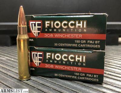 For Sale: Fiocchi .308