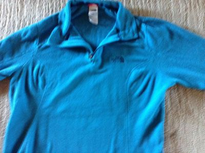 Large north face 1/2 zip