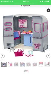 Our Generation Barbie Trailer- Great Condition