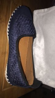 Navy Bernie Mev Shoes