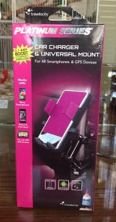 Travelocity Platinum Series Car Charger + Mount-French Valley