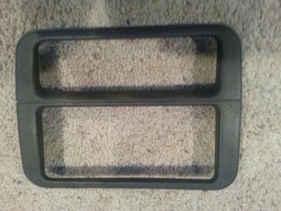 Find 1999 PONTIAC FIREBIRD RADIO HVAC SURROUND TRIM PANEL...EBONY...NICE motorcycle in Milwaukee, Wisconsin, US, for US $0.99