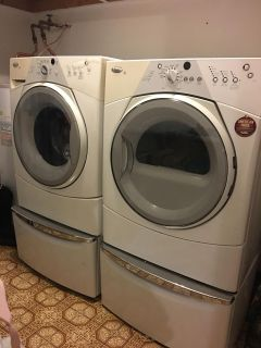 Whirlpool Duet Sport Front Load Washer & Dryer