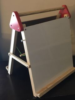 Great Condition- really like new, barely used Table Top Double sided Art Easel