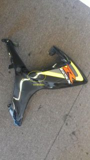 Purchase Used Factory OEM Right Side Fairing Black Suzuki GSXR600/750 2006 2007 motorcycle in Millbrae, California, US, for US $150.00