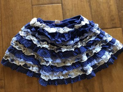 Cute Girl s Ruffle Skirt Sz 2