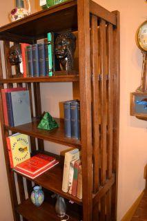 Arts and Crafts Mission Oak Bookshelf