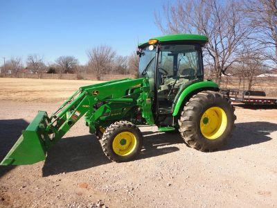 2014 John Deere 4044R Compact Utility Tractor