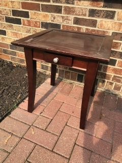 cute square End table