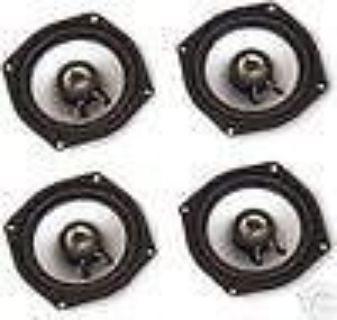 Sell Hogtunes Front / Rear Speakers 06-13 Harley FLT FLH motorcycle in Batesville, Arkansas, US, for US $169.87