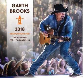 (4) Garth Brooks Lower Level Rodeo Tickets - Tues, Feb. 27 - Opening Night - Call Now!