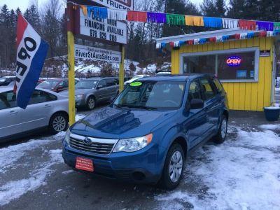 2009 Subaru Forester 2.5 X (Newport Blue Pearl)