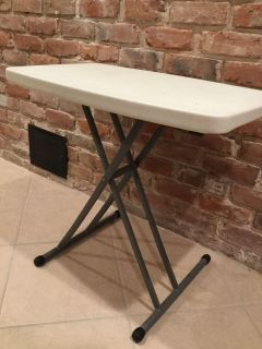 Small folding table $7