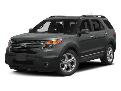 2013 Ford Explorer Limited (White Platinum Metallic Tri-coat)