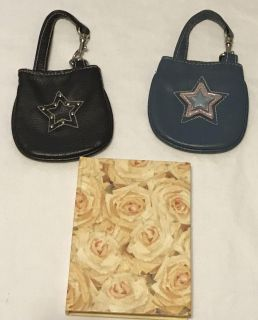Coin purses and notebook