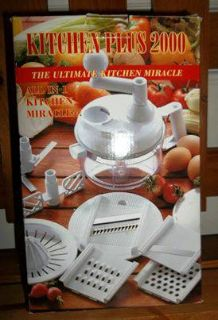 KITCHEN PLUS 2000 GRATER CHOPPER JUICER , MORE)