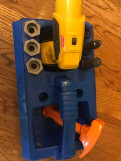 Fisher price battery operated drill set