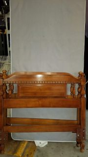 2Twin (long) headboards , frames and mattress bases - (Geneva)