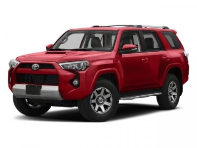 2018 Toyota 4Runner SR5 (Barcelona Red Metallic)