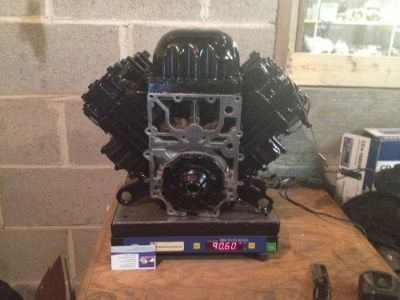 "Purchase ""CORE REQUIRED""115 T TURBOJET JOHNSON OMC RE-MANUFACTURED MOTOR ENGINE 4-CYL motorcycle in Waterford, Michigan, United States, for US $1,695.00"
