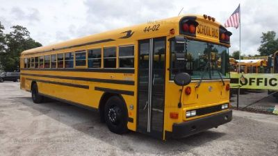 2003 Bluebird Rear Engine School Bus- 84 Passenger