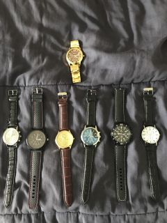 Watch Collection!!! Excellent collection!
