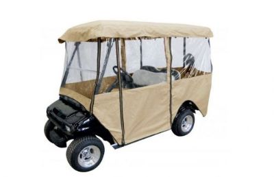 Purchase 4- Passenger Golf Cart Enclosure Car Cover Fits E Z GO, Club Car and Yamaha motorcycle in Houston, Texas, United States, for US $168.00