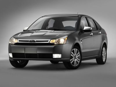 2009 Ford Focus SE (Ebony Clearcoat)