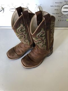 Old West boots Toddler 9.5