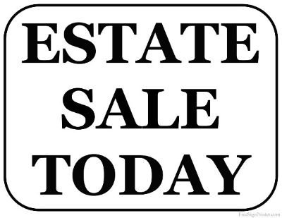 Hello we are having a estate sale all this week on base at deluz housing. Adreas is 326 Taegu Ct...