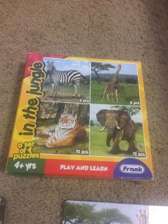 Animal Puzzle 4 + years