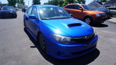 2010 Subaru Impreza WRX Base (world rally blue)