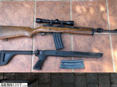 For Sale: Ruger mini14 ranch