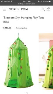 HABA brand hanging play tent